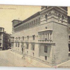 Postales: PS6166 ZARAGOZA 'LA AUDIENCIA'. SAMSOT Y MISSÉ. SIN CIRCULAR. PRINC. S. XX. Lote 52937516