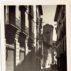 Postales: PS6151 CALATAYUD 'CALLE DE DATO Y TORRE INCLINADA DE S. PEDRO'. GARCÍA GARRABELLA. AÑOS 50. Lote 52652709