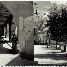 Postales: PS5504 BENABARRE 'PLAZA DEL GENERALÍSIMO'. EDICIONES SICILIA. CIRCULADA EN 1958. Lote 46688691