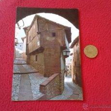Postales: POSTAL POSTCARD ARAGON TERUEL ALBARRACIN ARCO DEL PORTAL DE LA MOLINA EDICIONES SICILIA . Lote 54840012