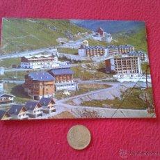 Postales: POSTAL POSTCARD ARAGON HUESCA PIRINEO ARAGONES CANDANCHU CONJUNTO DE HOTELES Y APARTAMENTOS Y ADUANA. Lote 54845878