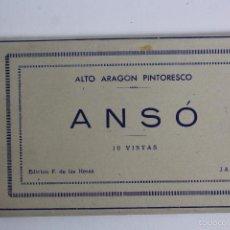 Postales: BP-60. ANSÓ. CUADERNO DE 10 POSTALES. ALTO ARAGON PINTORESCO. F. DE LAS HERAS. JACA.. Lote 55097677