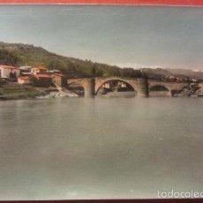 Postales: POSTAL GRAUS ( HUESCA ) COLOREADA. Lote 55226214