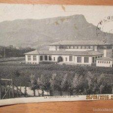 Postales: POSTAL DE JACA -UNIVERSIDAD -1942. Lote 55372534