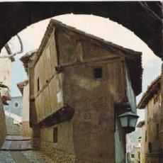 Postales: ALBARRACIN Nº 7 ARCO DEL PORTAL DE MOLINA SIN CIRCULAR FOT EDICIONES SICILIA . Lote 55777535