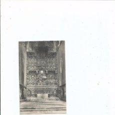 Postales: ZARAGOZA - ALTAR MAYOR DE LA SEO - SIN CIRCULAR. Lote 56052972