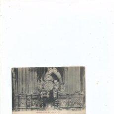 Postales: POSTAL - ZARAGOZA - ALTAR DEL CRISTO DE LA SEO - SIN CIRCULAR. Lote 56079612