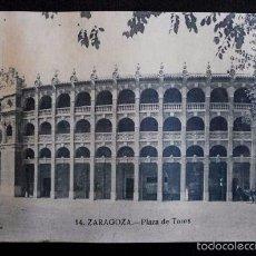 Postales: ZARAGOZA - Nº 14 PLAZA DE TOROS -PRIMERA SERIE- POSTAL NO CIRCULADA- ARAGÓN. Lote 56087314