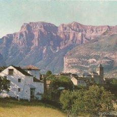 Postales: TORLA, HUESCA (ARAGÓN), VISTA PARCIAL - ED. BOSCH - SIN CIRCULAR. Lote 56199572