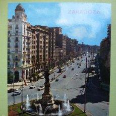 Postales: ZARAGOZA. MONUMENTO A LOS MÁRTIRES. . Lote 56273556