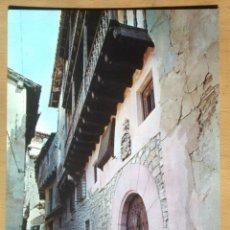 Postales: ALBARRACIN - CALLE PORTAL DE MOLINA. Lote 56342134