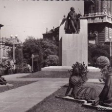Postales: ZARAGOZA MONUMENTO A GOYA (ESCRITA). Lote 56983782