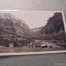 Postales: ORDESA - 12 ( PIRINEO ARAGONÉS ) EL VALLE DE ORDESA DESDE LA GRANJA - ZERKOWTZ - 14X9 CM. . Lote 57215884