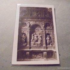 Postales: HUESCA - CATEDRAL ALTAR DE LOS REYES . FOTOGRAFICA 14X9 CM. . Lote 57217459