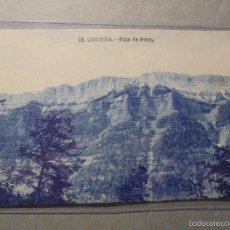 Postkarten - 28 - ORDESA - FAJA DE PELAY - EDT. SILVERIO PASCUAL - 14X9 CM. - 57226767