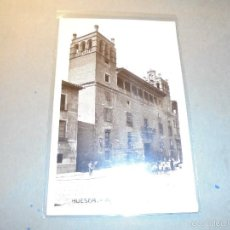 Postales: HUESCA - AYUNTAMIENTO , POSTAL FOTOGRAFICA - 14X9 CM. . Lote 57235713
