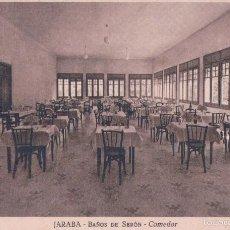 Postales: POSTAL JARABA- BAÑOS DE SERON -COMEDOR.FOTO MARIN. Lote 57343985