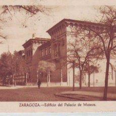 Postkarten - ESPAÑA POSTALES ZARAGOZA LOTE 532 EDIFICIO DEL PALACIO DE MUSEOS CIRCULADO - 57390381