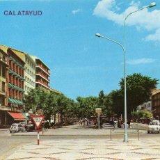 Postales: CALATAYUD - 222 PASEO CALVO SOTELO. Lote 57407814
