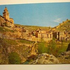Postales: POSTAL ALBARRACIN -PARCIAL MURALLAS Y RIO. Lote 57505863