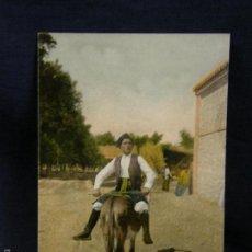 Postales: POSTAL COLOREADA ZARAGOZA HACIA EL CAMPO. Lote 57678341
