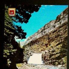 Postales: PARQUE NACIONAL DE ORDESA (HUESCA) Nº 417 GRADAS SOASO -ED. SOBERANAS-POSTAL NO CIRCULADA. Lote 57685494