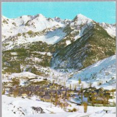 Postales: HUESCA SALLENT DE GALLEGO ESTACION INVERNAL. Lote 57741388
