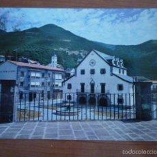 Postales: POSTAL AYUNTAMIENTO Y PLAZA MAYOR. BIESCAS (HUESCA) ESCRITA.. Lote 57794561
