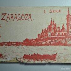 Postales: POSTALES ZARAGOZA PRIMERA SERIE - 9 POSTALES. Lote 57820606