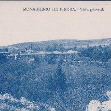 Postales: POSTAL ZARAGOZA.- MONASTERIO DE PIEDRA, VISTA GENERAL. Lote 57829801