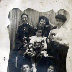Postales: TARJETA POSTAL FOTOGRAFICA CIRCULADA CON SELLO 1903 BARCELONA ZARAGOZA UNION UNIVERSAL CORREOS. Lote 57940509