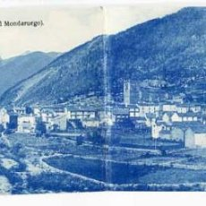 Postkarten - HUESCA BROTO VISTA GENERAL ( AL FONDO EL MONDARUEGO ) ED. SILVERIO PASCUAL -FONDA PRADAS. DOBLE. - 57958952