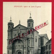 Postales: POSTAL ZARAGOZA, IGLESIA DE SANTA ENGRACIA, P83516. Lote 57985812