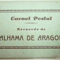 Postales: ALHAMA DE ARAGON. BLOC O CARNET DE 10 POSTALES FOTOGRÁFICAS. AÑOS 1930S. Lote 58198618