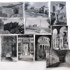 Postales: ALQUEZAR / 10 POSTALES BLANCO Y NEGRO - AÑOS 60 / EDICIONES SICILIA / SIN USAR / HUESCA. Lote 58446622