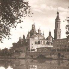 Postales: POSTAL DE ZARAGOZA TEMPLO DEL PILAR 12/105. Lote 58532112