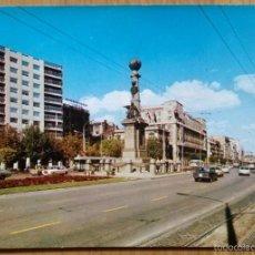 Postales: ZARAGOZA - PLAZA DE ARAGON. Lote 58590905