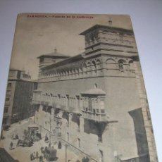 Postales: ANTIGUA POSTAL.....ZARAGOZA...PALACIO DE LA AUDIENCIA.. Lote 58853921
