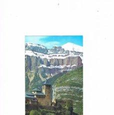 Postales: POSTAL ANTIGUA HUESCA SIN CIRCULAR TORLA VALLE DE ORDESA PIRINEO ARAGONES IGLESIA PARROQUIAL. Lote 58871691