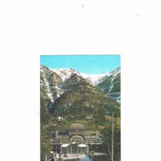 Postales: POSTAL ANTIGUA HUESCA SIN CIRCULAR CANFRANC PIRINEO ARAGONES ESTACION INTERNACIONAL. Lote 58872036