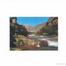 Postales: POSTAL ANTIGUA HUESCA ESCRITA POR DETRAS PARQUE NACIONAL ORDESA GRADAS DE SOASO PICO SUN DE RAMON. Lote 58872131