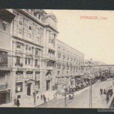 Postales: ZARAGOZA.COSO.Nº 10823.ED.THOMAS.SIN CIRCULAR.. Lote 59115340