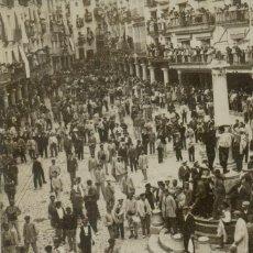 Postales: TERUEL. LA VAQUILLA DEL ANGEL. FOTOGRÁFICA. 1908. PIEZA ÚNICA.. Lote 59441830