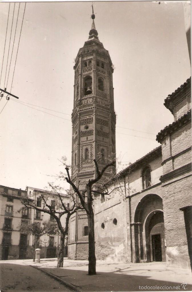 CALATAYUD Nº7 IGLESIA Y TORRE SAN ANDRËS SICILIA SIN C. (Postales - España - Aragón Moderna (desde 1.940))