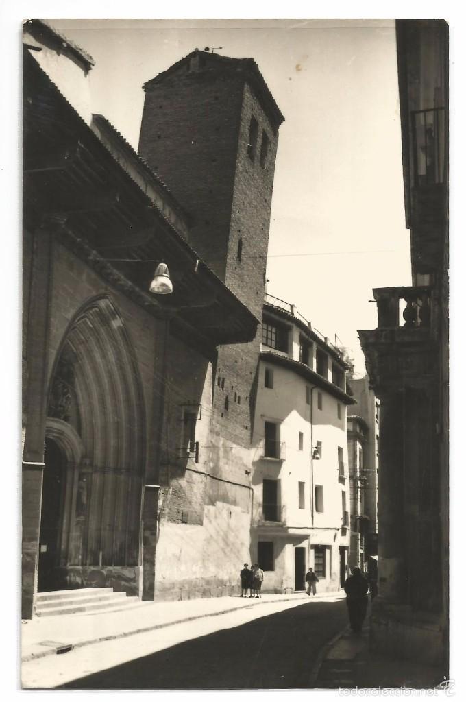 CALATAYUD .- TORRE INCLINADA DE SAN PEDRO .- EDICIONES SICILIA Nº 9 (Postales - España - Aragón Moderna (desde 1.940))