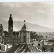 Postales: ZARAGOZA TARAZONA CATEDRAL, AL FONDO EL MONCAYO EDICIONES SICILIA 40. SIN CIRCULAR. Lote 60282099