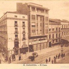 Postales: ZARAGOZA.- EL COSO.. Lote 60417835