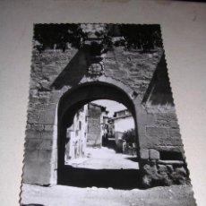 Postales: POSTAL ANTIGUA PUERTA DE ENTRADA A GRAUS 31 ED. SICILIA 14 X 9. Lote 60621587