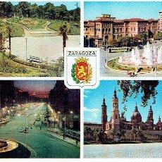 Postales: POSTAL DE ZARAGOZA - CIRCULADA,ED.ARRIBIS . Lote 61129723