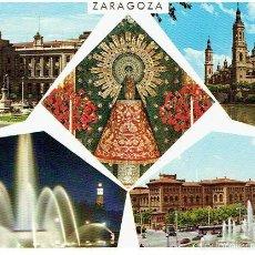 Postales: POSTAL DE ZARAGOZA,CIRCULADA - GARCIA GARRABELLA . Lote 61130511